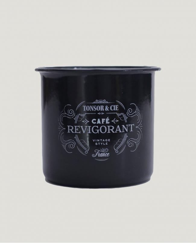 Mug Metal « Café Revigorant »