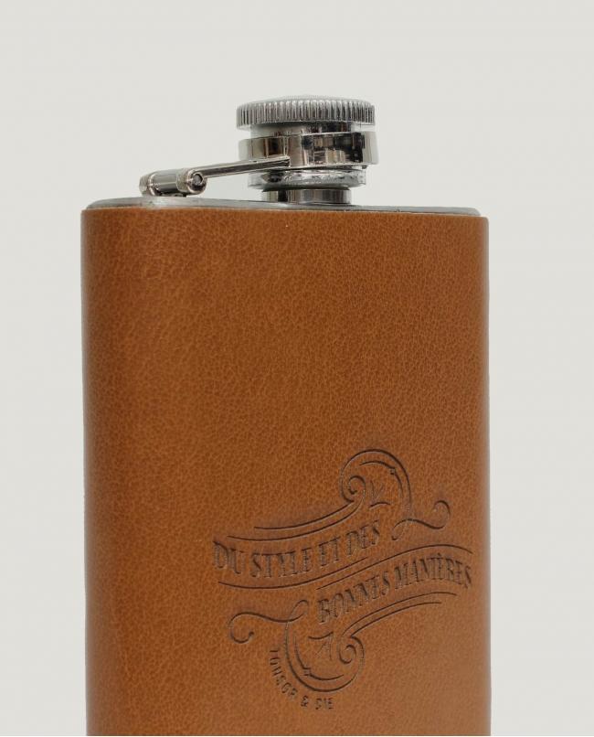 Flasque Gainée « Marron»