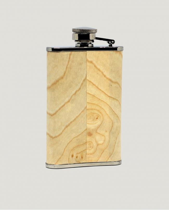 Flasque Gainée « Bois Clair »