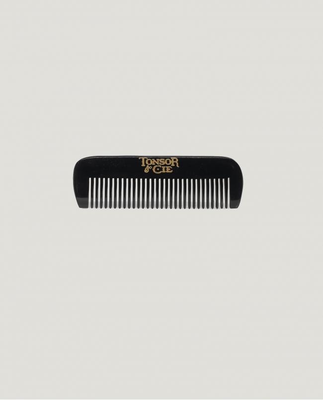 Peigne barbe en corne