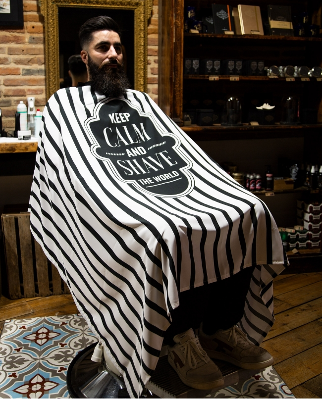 Cape de Coupe « Keep Calm and Shave The World»