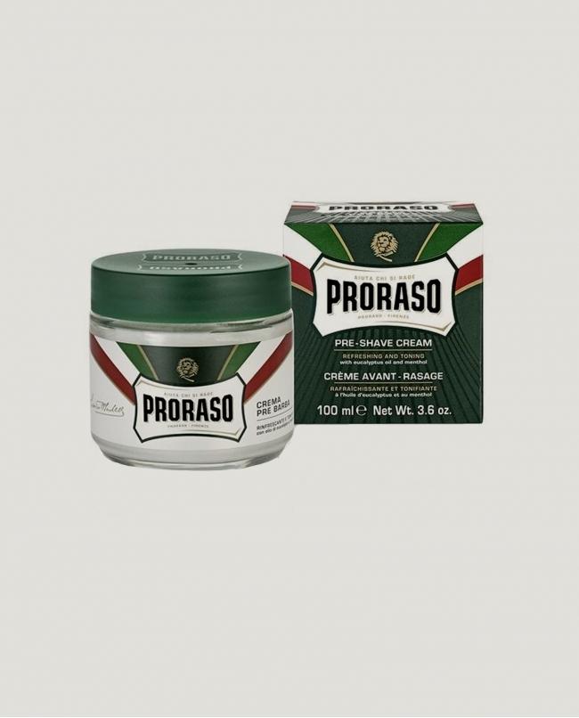 Crème avant-rasage rafraîchissante et tonifiante - 100ML / proraso
